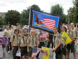Scouts at TEA Party 9 12 09