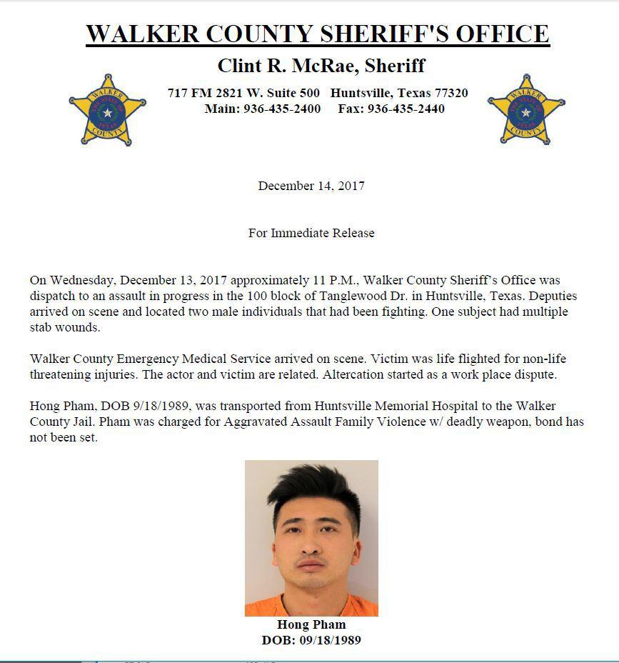 Sentinel Alert - Walker Co